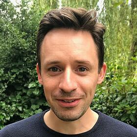 Portrait shot of James Coleman